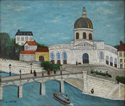 Louis Vivin Le pont des Arts