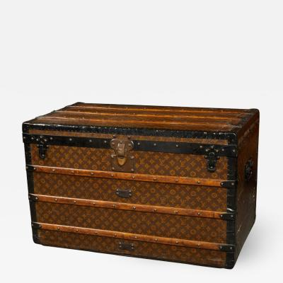Louis Vuitton C 11 1920s Louis Vuitton steamer trunk