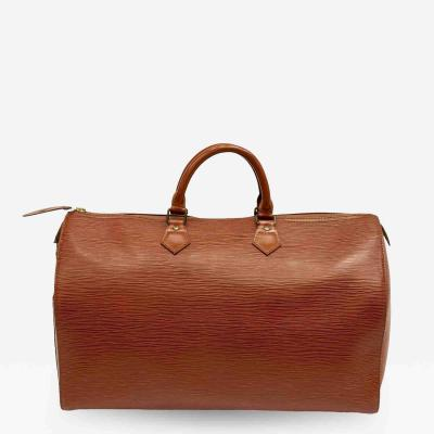 Louis Vuitton Louis Vuitton Speedy 40 Cipango Gold Epi Handbag