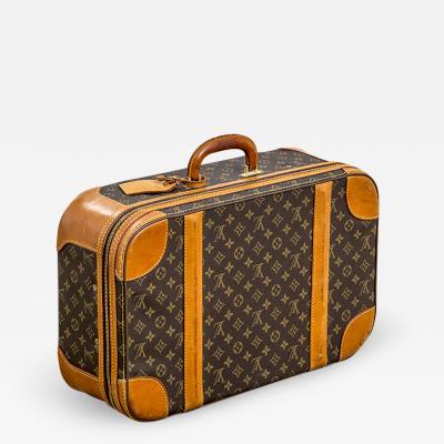 Louis Vuitton Louis Vuitton Suitcase Classic Monogram Canvas 60s