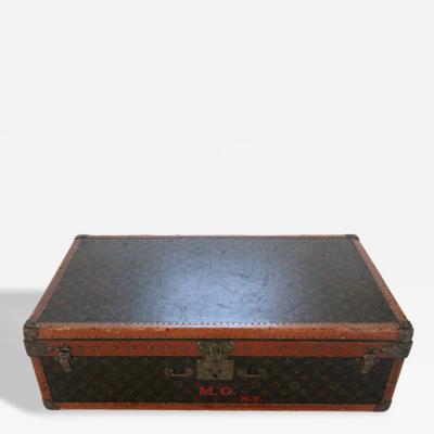 Louis Vuitton Vintage Louis Vuitton Monogrammed Suit Case
