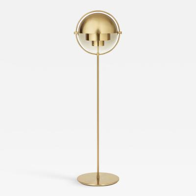 Louis Weisdorf Brass Multi Light Floor Lamp Louis Weisdorf
