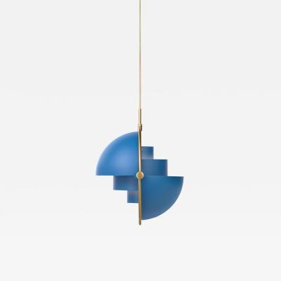 Louis Weisdorf Brass Multi Light Pendant Louis Weisdorf