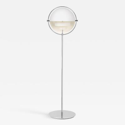 Louis Weisdorf Chrome Multi Light Floor Lamp Louis Weisdorf