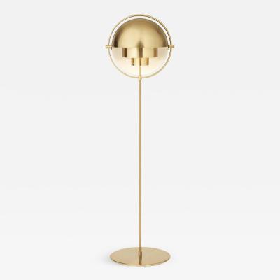 Louis Weisdorf Louis Weisdorf Multi Lite Floor Lamp in Brass