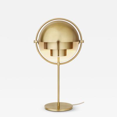 Louis Weisdorf Louis Weisdorf Multi Lite Table Lamp in Brass