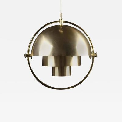 Louis Weisdorf Original Multi Light Pendant by Louis Weisdorf for Lyfa
