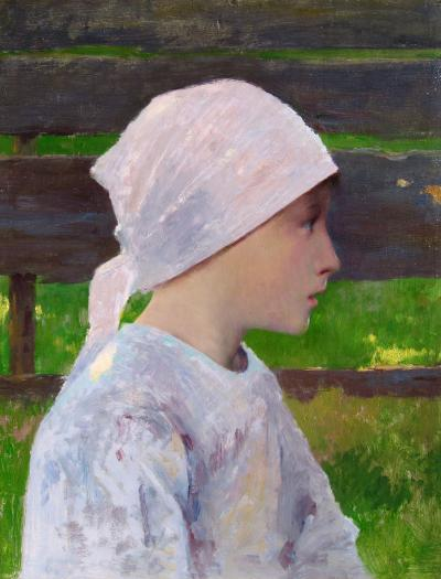 Louis Welden Hawkins A Breton Girl