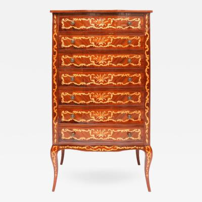 Louis XV Marquetry Lingerie Chest