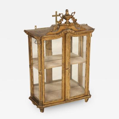 Louis XV Style Table Top Vitrine