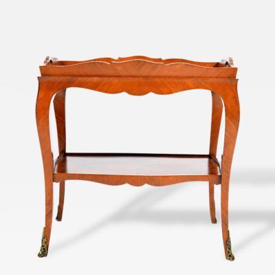 Louis XV Style Tea Cart Table