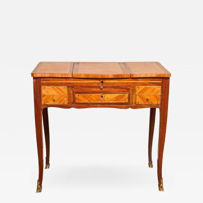 Louis XV Tulipwood and Amaranth Table De Toilette circa 1760