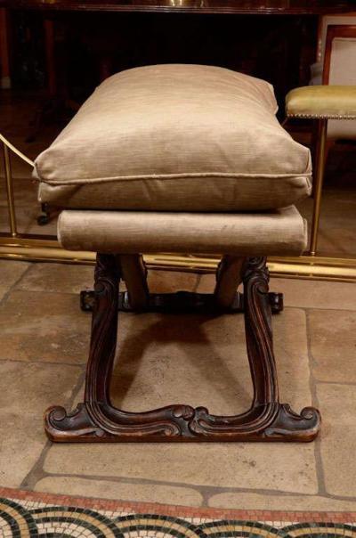 Louis XV Walnut Stool