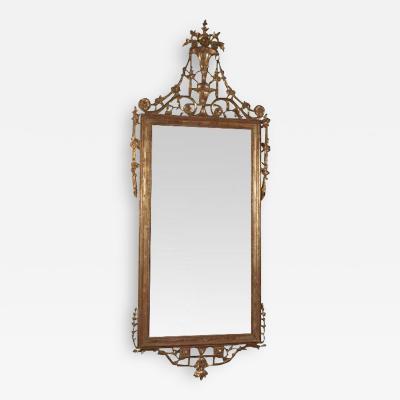 Louis XVI Console Mirror