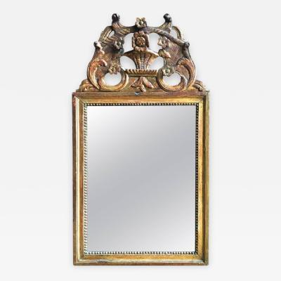 Louis XVI Period Giltwood Mirror 18th Century