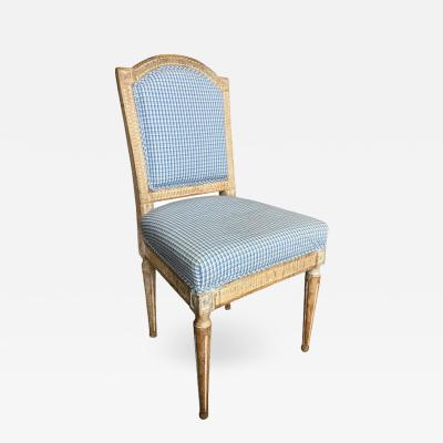 Louis XVI Period Upholstered Side Chair Circa 1790