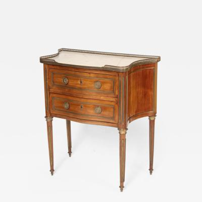 Louis XVI Style Brass Mounted Commode