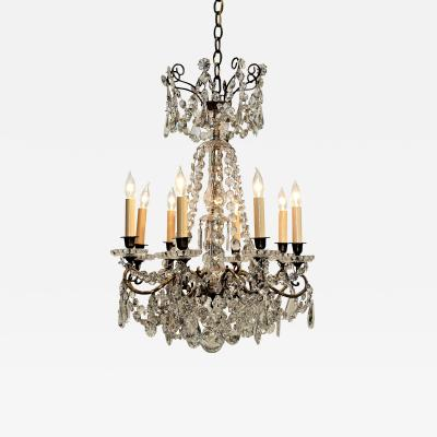 Louis XVI Style Eight Light Chandelier Circa 1850 France