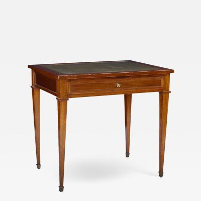 Louis XVI Style French Mahogany Writing Table