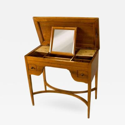 Louis XVI Walnut Ladies Desk or Dressing Table