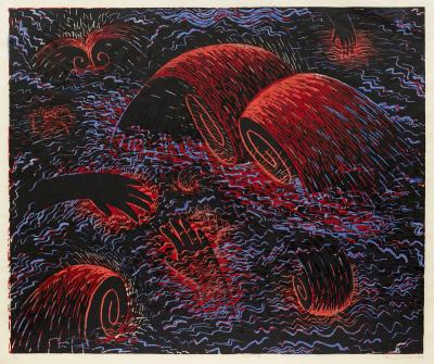 Louisa Chase Red Sea