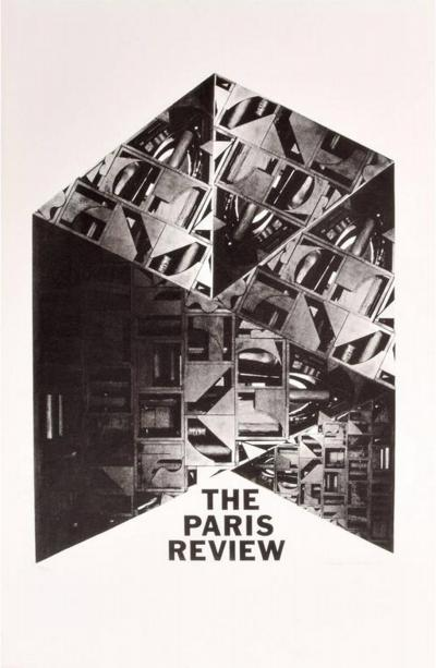 Louise Nevelson Large Louise Nevelson Paris Review Lithograph Signed