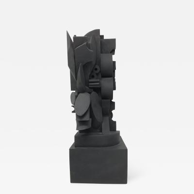 Louise Nevelson Louise Nevelson Wood Cut Sculpture The Dark Elipse
