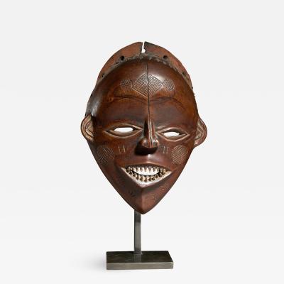 Lovale People Zambia Female Mask Mwana Pwevo