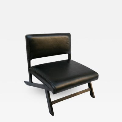 Low Leather Chair
