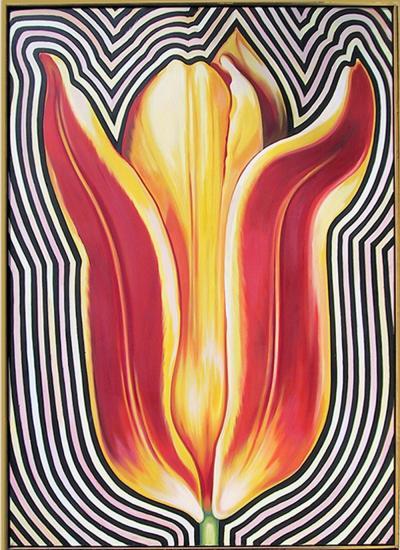 Lowell Blair Nesbitt Electric Tulip II