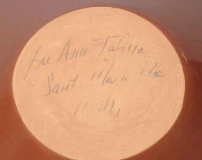 LuAnn Tafoya Santa Clara incised jar by LuAnn Tafoya
