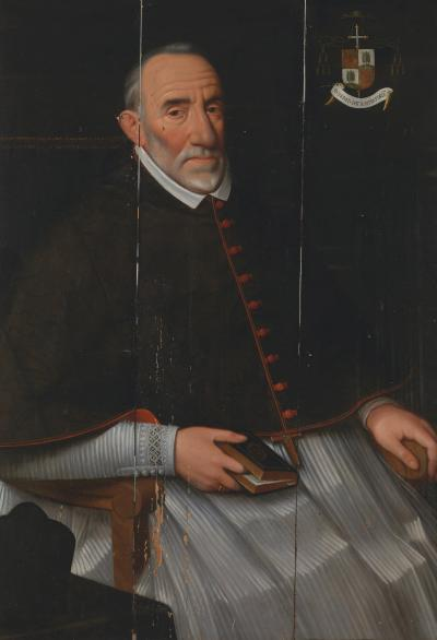 Lucas Franchoys the Elder Portrait of Cardinal Matthias Hovius Mechelen 1542 Affligem 1620