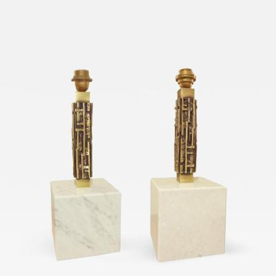 Luciano Frigerio A Pair of Modernis Lamps by Luciano Frigerio