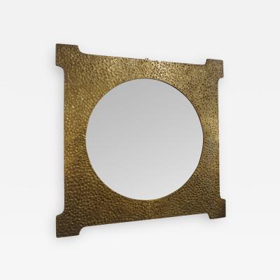 Luciano Frigerio Gilt Bronze Mirror by Luciano Frigerio 1970s