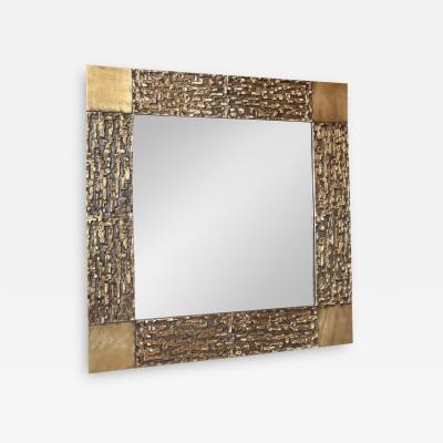 Luciano Frigerio Luciano Frigerio Vintage Brutalist Mirror