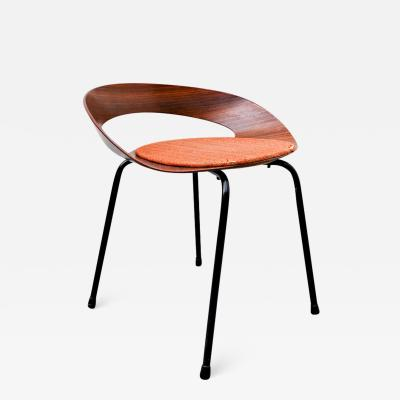 Luciano Nustrini PA1 Chair By Luciano Nustrini For Poltronova 1957