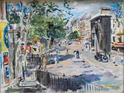 Lucien Adrion Porte St Martin