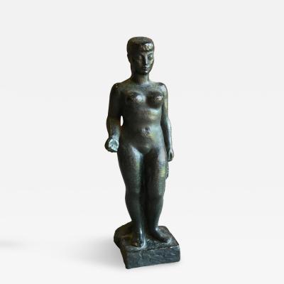 Lucien Gibert Bronze Sculpture by Lucien Gibert circa 1950