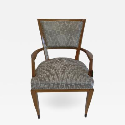 Lucien Rollin Art Deco Arm Chair by Lucien Rollin for William Switzer