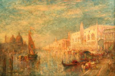 Lucien Whiting Powell Grand Canal Venice