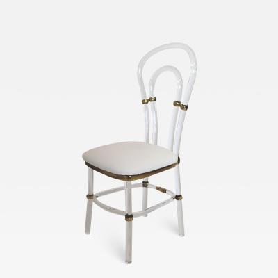 Lucite Chair Roma