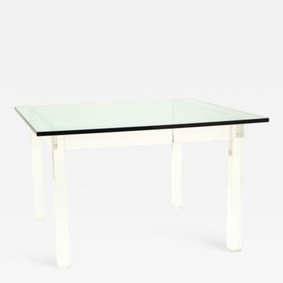 Lucite Table in the style of Charles Hollis Jones