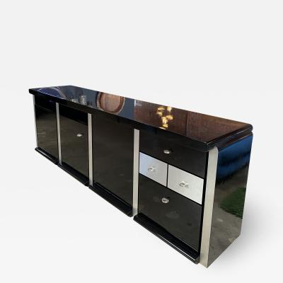 Ludovico Acerbis Ludovico Acerbis Midcentury 1970 Rosewood and Stainless Steel Sideboard