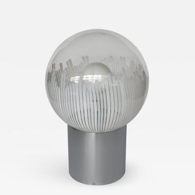 Ludovico Diaz de Santillana Ludovico Diaz de Santillana Murano Glass Anemoni Table Lamp for Venini