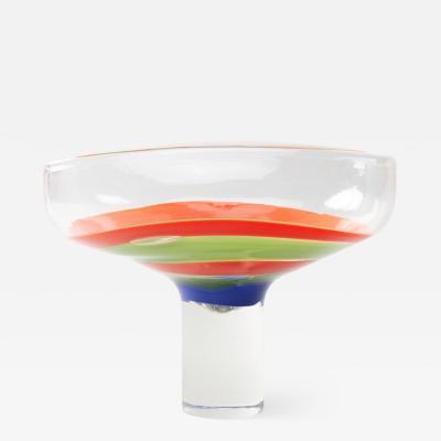 Ludovico Diaz de Santillana Ludovico Diaz de Santillana Venini Murano 1970 cup designed for Philips