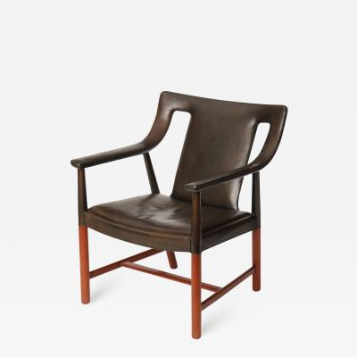 Ludvig Pontoppidan LEATHER ARM CHAIR