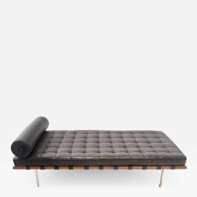 Ludwig Mies Van Der Rohe Classic Barcelona Couch by Ludwig Mies van der Rohe for Knoll