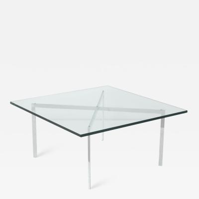 Ludwig Mies Van Der Rohe Dessau Coffee Table by Ludwig Mies van der Rohe for Waldemar Stiegler