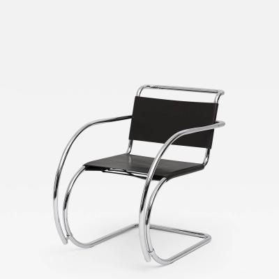 Ludwig Mies Van Der Rohe Ludwig Mies Van Der Rohe Brown Leather MR chair