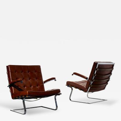 Ludwig Mies Van Der Rohe Ludwig Mies van der Rohe Tugendhat Armchairs for Knoll International